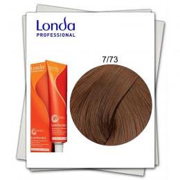 Vopsea Fara Amoniac - Londa Professional nuanta 7/73 blond mediu maro auriu