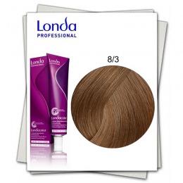 Vopsea Permanenta - Londa Professional nuanta 8/3 blond deschis auriu