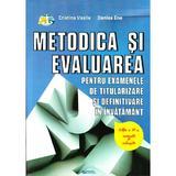 Ed.3 Metodica si evaluarea pentru examenele de titularizare si definitivare in invatamant , editura Rovimed