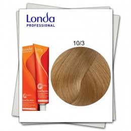 Vopsea Fara Amoniac - Londa Professional nuanta 10/3 blond solar auriu