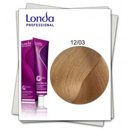 Vopsea Permanenta - Londa Professional nuanta 12/03 blond special auriu