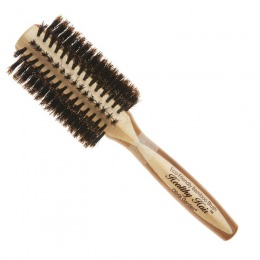 Perie Rotunda Bambus - Olivia Garden Healthy Hair Boar HH-B30 Brush
