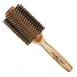 Perie Rotunda Bambus - Olivia Garden Healthy Hair Boar HH-B40 Brush