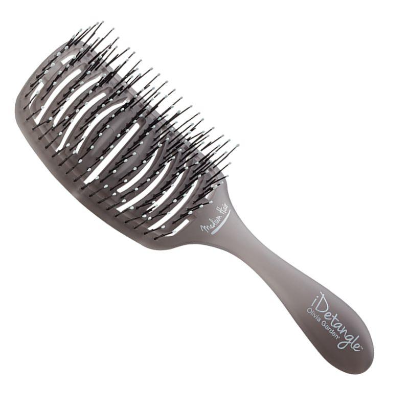Perie Descurcare Par Normal - Olivia Garden iDetangle Brush for Medium Hair imagine produs