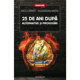 25 De Ani Dupa. Alternative Si Provocari - Paul Cernat, Alexandru Matei, editura Adenium