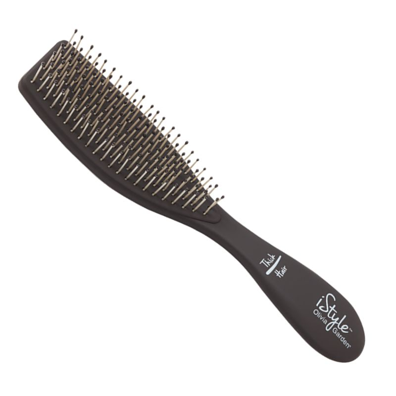 Perie Compacta Styling Par Gros - Olivia Garden iStyle Brush for Thick Hair imagine produs