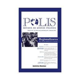 Polis vol.2 nr.1 decembrie 2013 - februarie 2014 Revista de stiinte politice, editura Institutul European