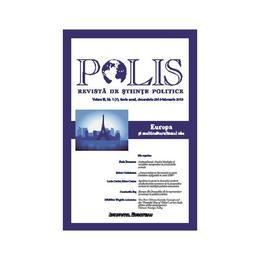 Polis Vol.3 Nr.1(7) Serie Noua Decembrie 2014-Februarie 2015 Revista De Stiinte Politice, editura Institutul European