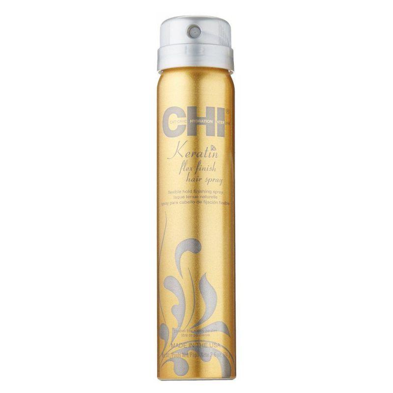 Spray de Styling cu Keratina - CHI Farouk Keratin Flex Finish Hairspray 74 g imagine produs