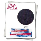Vopsea fara Amoniac Mixton - Wella Professionals Color Touch Special Mix nuanta 0/68 violet albastrui