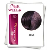 Vopsea fara Amoniac - Wella Professionals Color Touch Plus nuanta 55/06