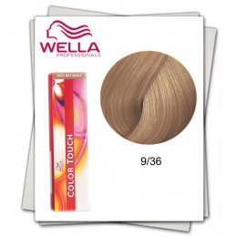 Vopsea fara Amoniac - Wella Professionals Color Touch nuanta 9/36 blond luminos auriu mahon