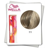 Vopsea fara Amoniac - Wella Professionals Color Touch nuanta 7/1 blond mediu cenusiu