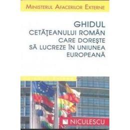 Ghidul cetateanului roman care doreste sa lucreze in uniunea europeana, editura Niculescu