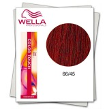 Vopsea fara Amoniac - Wella Professionals Color Touch nuanta 66/45 blond inchis intens roscat mahon