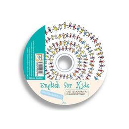 CD English for Kids. Caiet de lucru - Clasa pregatitoare. Ed. 2016 - Cristina Mircea, editura Booklet