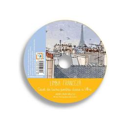 CD Franceza - Clasa 8 - Adelina Vilcu, editura Booklet