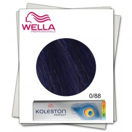 Vopsea Permanenta Mixton - Wella Professionals Koleston Perfect Special Mix nuanta 0/88 albastru
