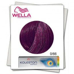 Vopsea Permanenta Mixton - Wella Professionals Koleston Perfect Special Mix nuanta 0/66 violet