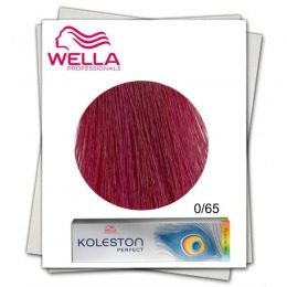 Vopsea Permanenta Mixton - Wella Professionals Koleston Perfect Special Mix nuanta 0/65 roz
