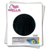 Vopsea Permanenta Mixton - Wella Professionals Koleston Perfect Special Mix nuanta 0/28 gri petrol