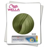 Vopsea Permanenta Mixton - Wella Professionals Koleston Perfect Special Mix nuanta 0/22 mat intens
