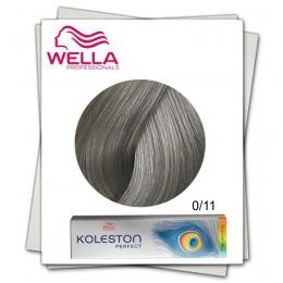 Vopsea Permanenta Mixton - Wella Professionals Koleston Perfect Special Mix nuanta 0/11 cenusiu intens