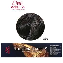 Vopsea Permanenta - Wella Professionals Koleston Perfect nuanta 3/00 castaniu natural inchis