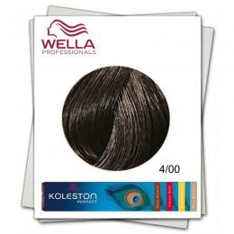 Vopsea Permanenta - Wella Professionals Koleston Perfect nuanta 4/00 castaniu mediu natural