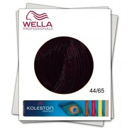 Vopsea Permanenta - Wella Professionals Koleston Perfect nuanta 44/65 castaniu mediu intens violet mahon