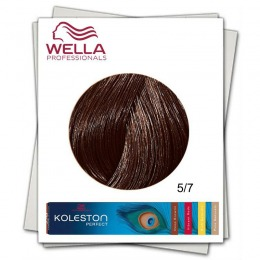 Vopsea Permanenta - Wella Professionals Koleston Perfect nuanta 5/7 castaniu deschis luminos