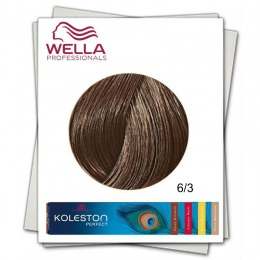 Vopsea Permanenta - Wella Professionals Koleston Perfect nuanta 6/3 blond inchis auriu