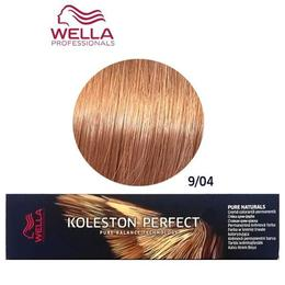 Vopsea Crema Permanenta – Wella Professionals Koleston Perfect Pure Naturals, nuanta 9/04 Blond Luminos Roscat Natural de la esteto.ro