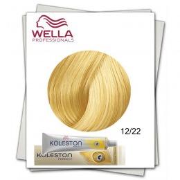 Vopsea Permanenta - Wella Professionals Koleston Perfect nuanta 12/22 special blonde mat intens