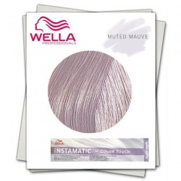 Vopsea Demi Permanenta Nuantatoare - Wella Instamatic by Color Touch Muted Mauve