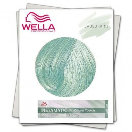 Vopsea Demi Permanenta Nuantatoare - Wella Instamatic by Color Touch Jaded Mint