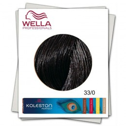 Vopsea Permanenta - Wella Professionals Koleston Perfect nuanta 33/0 castaniu inchis intens