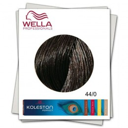 Vopsea Permanenta - Wella Professionals Koleston Perfect nuanta 44/0 castaniu mediu intens