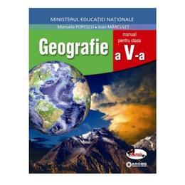 Geografie - Clasa 5 + Cd - Manual - Manuela Popescu, Ioan Marculet, editura Aramis
