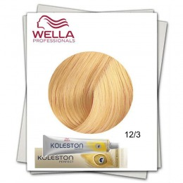 Vopsea Permanenta - Wella Professionals Koleston Perfect nuanta 12/3 special blond auriu