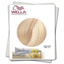Vopsea Permanenta - Wella Professionals Koleston Perfect nuanta 12/17 special blond cenusiu castaniu