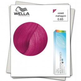 Vopsea Permanenta Mixton - Wella Professionals Koleston Perfect Innosense nuanta 0/65 roz
