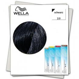 Vopsea Permanenta - Wella Professionals Koleston Perfect Innosense nuanta 2/0 negru
