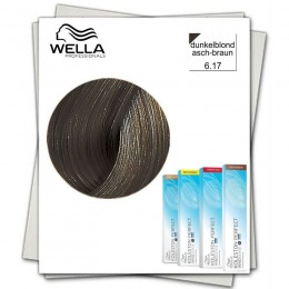Vopsea Permanenta - Wella Professionals Koleston Perfect Innosense nuanta 6/17 blond inchis cenusiu maro