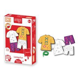 Carduri pentru snuruit- Hainutele vesele - Learning Kitds