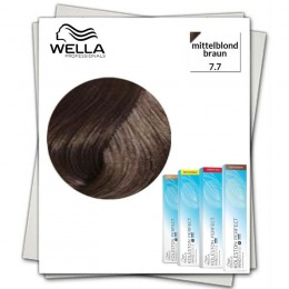Vopsea Permanenta - Wella Professionals Koleston Perfect Innosense nuanta 7/7 blond mediu maro