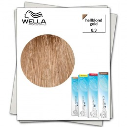 Vopsea Permanenta - Wella Professionals Koleston Perfect Innosense nuanta 8/3 blond deschis auriu