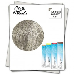 Vopsea Permanenta - Wella Professionals Koleston Perfect Innosense nuanta 9/81 blond luminos perlat cenusiu