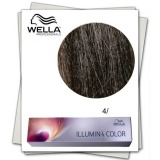 Vopsea Permanenta - Wella Professionals Illumina Color Nuanta 4/