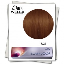 Vopsea Permanenta - Wella Professionals Illumina Color Nuanta 6/37